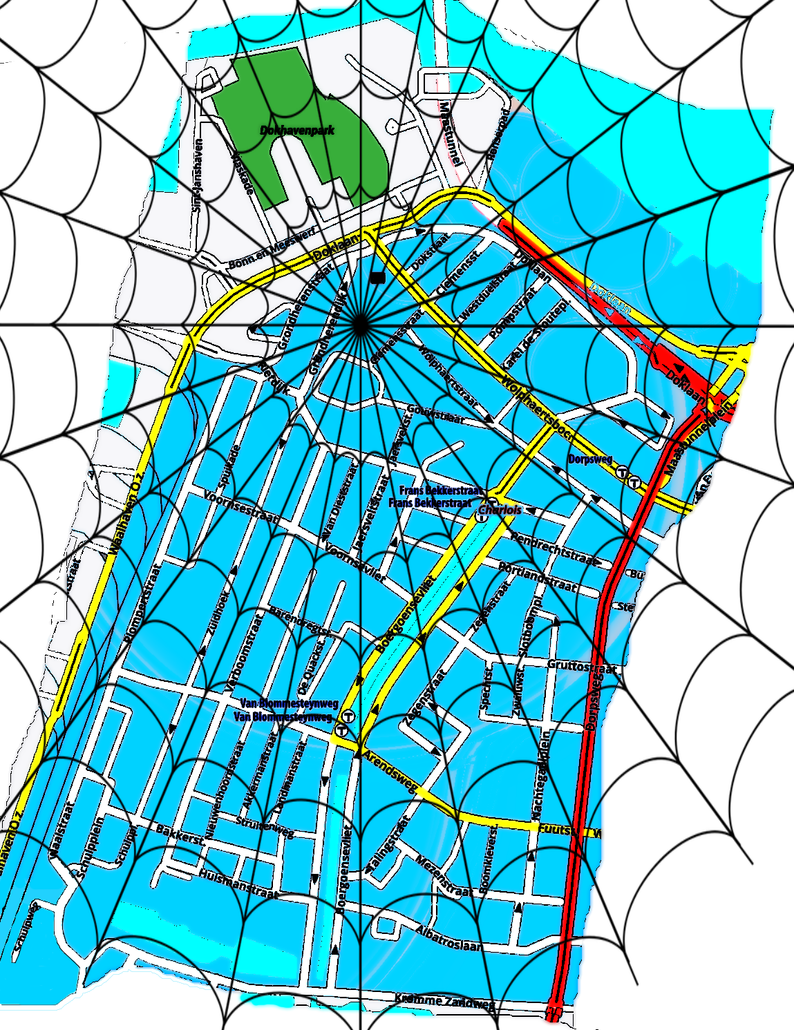 oude-kaart-werkgroep-oud-charlois-rotterdam